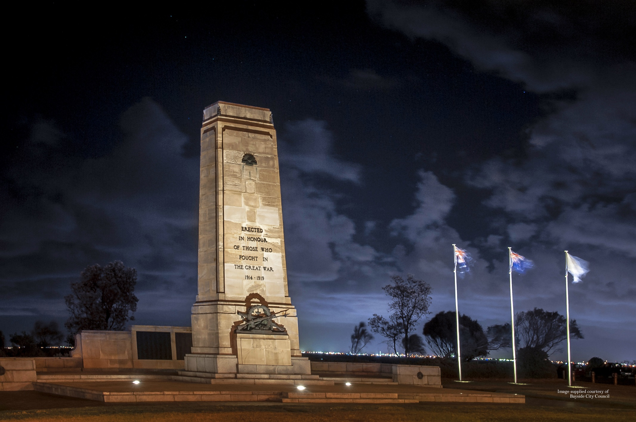 Greenpoint Cenotaph Lighting - Bayside